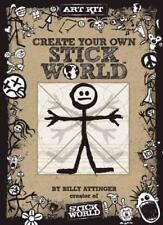 CREATE YOUR OWN STICK WORLD KIT - ATTINGER, BILLY - NEW HARDCOVER BOOK