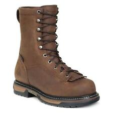 Rocky FQ0005698 Mens Brown Leather Ironclad Waterproof Lace Up Work Boots
