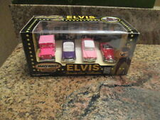 """MATCHBOX COLLECTIBLES ELVIS """"FAVORITE CARS"""" COLLECTION 4 CAR SET NEW IN BOX"""