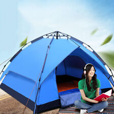 Hot Camping Tent Single/Double Layer Automatic Tent Outdoor Beach Hiking Shelter