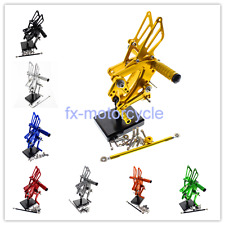 China CBR500R/400R/CB500F/400F 13-15 CNC Rearset Footpegs Set Footrests 8 Colors