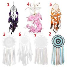 Dream Catcher Round Feather Native American Indian Style Dreamcatcher Decors
