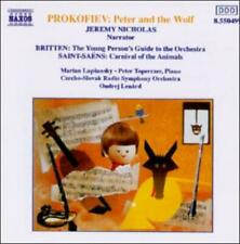 PROKOFIEV: PETER AND THE WOLF; SAINT-SA‰NS: CARNAVAL OF THE ANIMALS; BRITTEN: YO