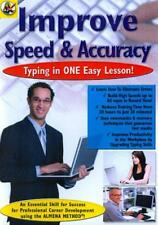 IMPROVE SPEED & ACCURACY: TYPING IN ONE EASY LESSON! NEW DVD