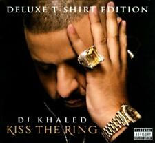 DJ KHALED - KISS THE RING [CD/T-SHIRT] [DELUXE EDITION] [PA] NEW CD