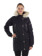 Nikita Jacket Coat Between-seasons jacket black Acorn Faux fur Zipper