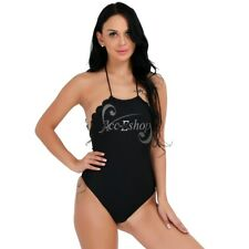 Sexy Women One Piece Backless Swimwear Padded Bikini Bathing Monokini Swimsuit