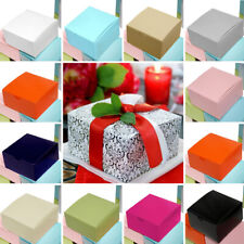 """200 4""""x4""""x2"""" Cake Wedding Party Favors Boxes with Tuck Top Wholesale Supplies"""