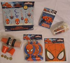 Spider-Man Birthday Party Supplies, $5 Total shipping no matter how much you buy