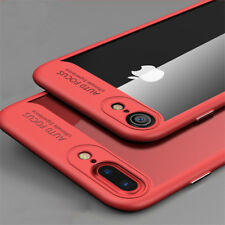 Luxury Case for iPhone 6 6s 7 Plus Full Protective TPU Silicon Transparent Cover
