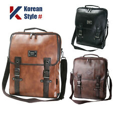 Unisex 15 Laptop Luggage Synthetic Leather Backpack Men Women Messenger Tote Bag