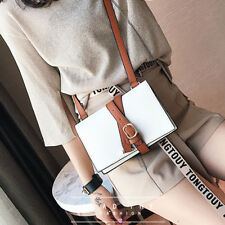 Fashion Womens Hit Color Tote Cross Body Messenger Shoulder Purse Bag Handbag