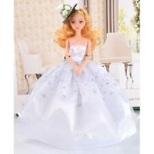Handmade Dress Wedding Party Mini Fashion Clothes for Barbie Doll Girls Gift