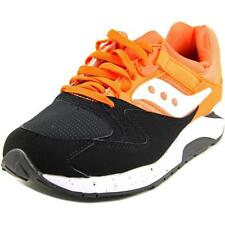 Saucony Grid 9000 Men  Round Toe Synthetic Gray Sneakers
