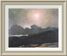 'The Artists Studio In An Afternoon Fog' by Winslow Homer Framed Painting Print