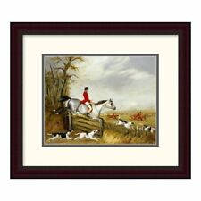 Global Gallery 'The Belvoir Hunt' by Henry Thomas Alken Framed Painting Print
