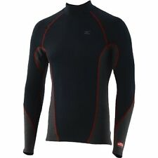 NEW MIZUNO BREATH THERMO LONG SLEEVE BASE LAYER - BLACK/BLUE ONE SIZE