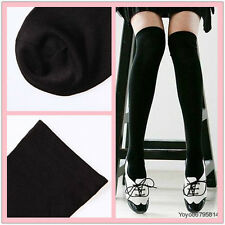 Vogue Cotton Wool Over The Knee Socks Thigh High Stockings Thinner Free