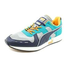 Puma RS100 Men   Synthetic Blue Fashion Sneakers