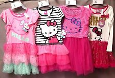 HELLO KITTY DRESSES SIZE 6/6X 4 STYLES TO CHOOSE FROM BNWT