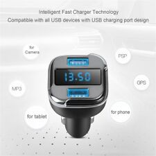 E5 Car Dual Port USB Charger Adapter For GPS phone tablet Camera MP3 PSP lot PY