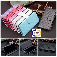 Flip Wallet Card Stand Sheepskin Leather Case Cover For Samsung GalaxyS4,5,6
