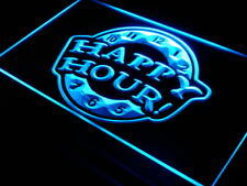 i257-b HAPPY HOUR Beer Bar Pub Club NEW Neon Light Sign