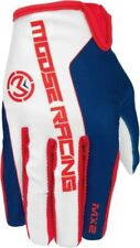 Moose Racing MX2 2017 Mens MX/Offroad Gloves Red/White/Blue