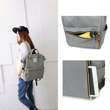 1 Pcs Women simple shopping pack Canvas bookbags Student school backpack