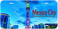 Mexico City Aluminum Novelty Car Auto License Plate