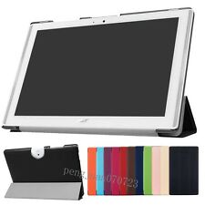 """Pu Leather Stand Flip Case Cover For 10.1""""Acer Iconia One 10 B3-A40 Tablet +Film"""