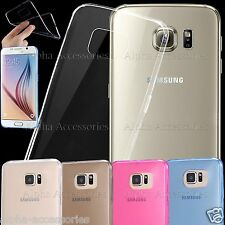 Ultra Slim Crystal Clear Soft TPU Gel Thin Case Cover For iPhone 8/7 Galaxy S8