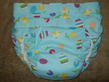 Dependeco All In One cloth adult diaper S/M/L/XL  (easter chick)