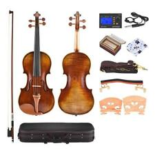 4/4 Full Size Handmade Violin with Care Kit Antonio Stradivari 1716 Style W3N2