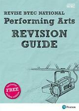 Revise Btec National Performing Arts Revision Guide by Emma Hindley Book & Merch