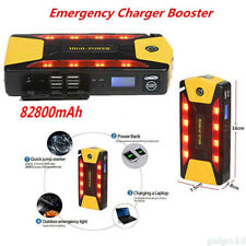 82800mAh* Car Jump Starter Emergency 4USB Charger Booster Battery&Power Bank SOS