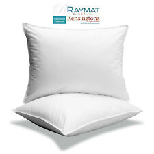 Continental Euro Square Pillows Luxury Hotel Quality 100% Microfibre Filled