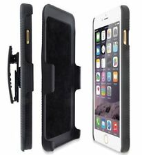 Black Hybrid Belt Clip Shell Holster Hard Stand Case Cover for Apple iphone Hot