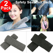 2Pcs Comfortable Car Safety Seat Belt Pads Soft Shoulder Strap Cover Cushion New