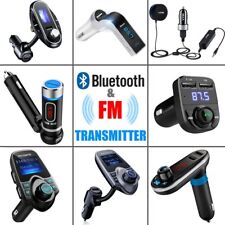 US FM Transmitter Bluetooth Hands-free MP3 Player Adapter Car Kit Charger Lot