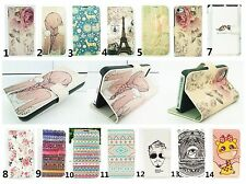 For Apple iPhone 4 4S 5G 5S Magnetic Flip Leather Case Card Wallet Cover Stand