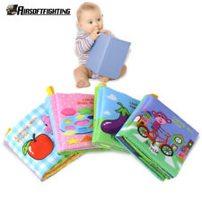 Baby Soft Cloth Books Baby First Book 4 Pages Infant Toy Newborn Crib Bed Baby