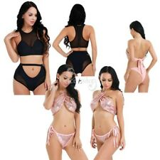 Sexy Women's Bikini Set Swimsuit Beachwear Swimwear Push Up Bra Panties Bathing