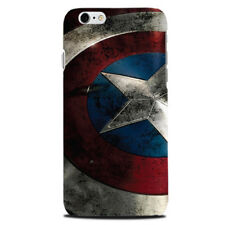 Captain America Shield phone case cover Apple Iphone 4 5 Galaxy S7 S5 gift s6 a5