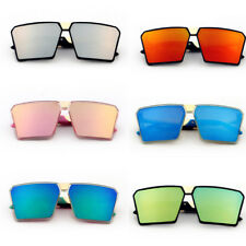 New Fashion Sun Sunglasses Children Kids Glasses Girls Large Square Frame Boys