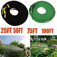 3X Stronger Deluxe 100FT Expandable Flexible Garden Water Hose + Spray nozzle SK