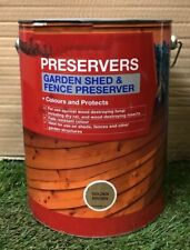 Garden Shed and Fence Preserver - 5 Litres