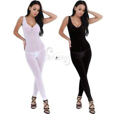 Women's Sissy Mesh Bodysuit Sheer Open Crotch Teddy Backless Jumpsuit Sleepwear