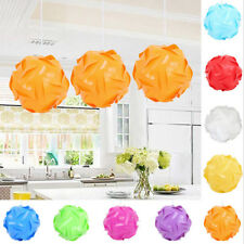 30Pcs Modern chandelier IQ lamp Light Ceiling lampshade Puzzle DIY LED