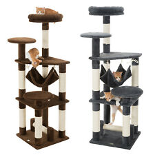 """Ollieroo 52"""" Cat Tree Tower Condo Furniture Scratch Post Kitty Pet House Play"""